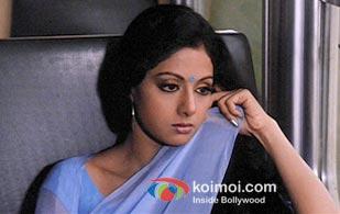 Sreedevi in a still from O' meri Chandni song