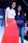 Tisca Chopra Walks For Sonali Mansingka