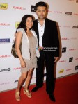 Zoya Akhtar, Karan Johar At Filmfare Nominations Bash