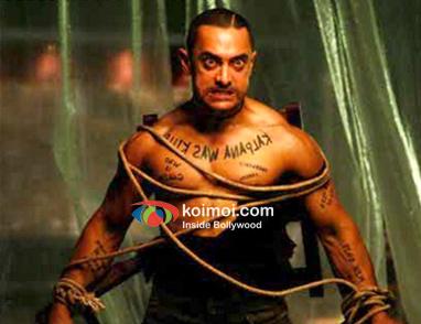 Aamir Khan In Ghajini