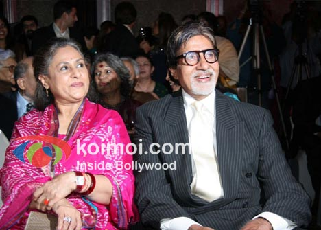 Jaya Bhaduri with Amitabh Bachchan