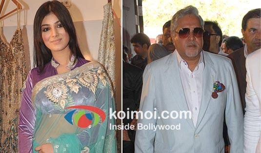 Ayesha Takia And Vijay Mallya