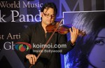 Deepak Pandit At The launch Of His Album Miracle