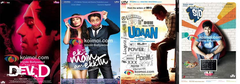 Dev D, Ek Main Aur Ekk Tu, Udaan, Wake Up Sid