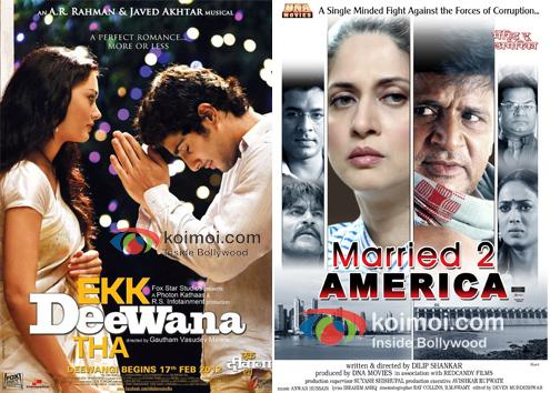 Posters Of Ekk Deewana Tha, Married To America