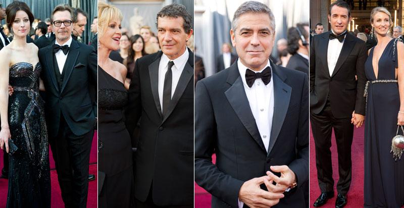 Gary Oldman, Antonio Banderas, George Clooney, Jean Dujardin