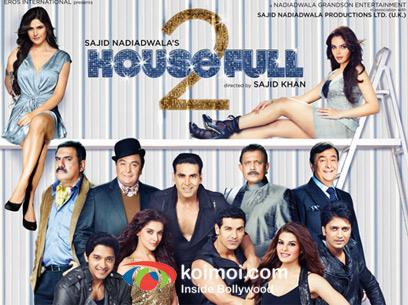 Movie poster Housefull 2
