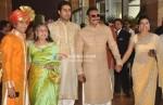 Jaya Bachchan, Abhishek Bachchan, Ajay Devgan, Kajol At Ritesh-Genelia Wedding