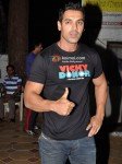 John Abraham spotted at Warhorse special screening