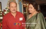 Kirron Kher At Prayer Meet For Anupam Kher's Father