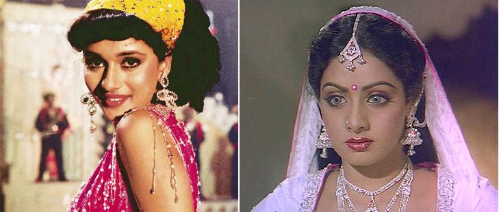 Madhuri Dixit In 'Ek Do Teen' Song, Sreedevi In Nagina