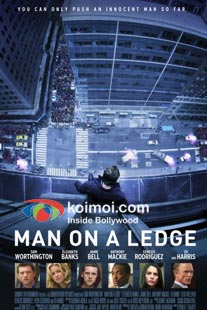 Man On A Ledge Movie Review (Movie Poster)