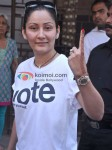 Manyata Dutt Vote For Mumbai Elections