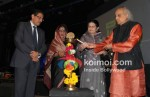 Mr.Himanshu Kapaniat, Rajashree Birla, Kishori Amonkarr, Pandit Jasraj At Idea Jalsa Celebration Event