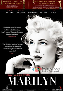 My Week With Marilyn Review (My Week With Marilyn Movie Poster)
