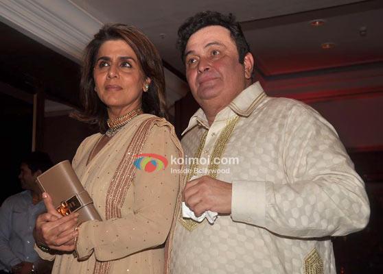 Neetu Kapoor & Rishi Kapoor