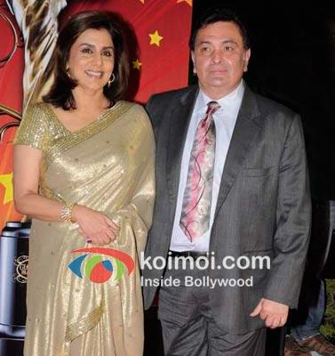 Neetu Singh with Rishi Kapoor