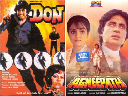 Posters Of Don And Agneepath