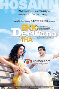Prateik And Amy Jackson Ekk Deewana Tha Movie Poster
