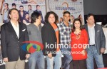 Randhir Kapoor, Sajid Nadiadwala, Sajid Khan, Akshay Kumar, Farah Khan, Rishi Kapoor At Housefull 2 Trailer launch
