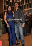Raveena Tandon, Anil Thadani At Raymond Store
