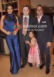 Raveena Tandon, Gautam Singhania, Rahul Bose At Raymond Store