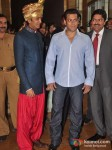Ritesh Deshmukh, Salman Khan At Dheeraj-Deepshikha Wedding