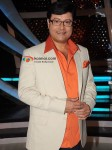 Sachin Pilgaonkar On The Sets Of A Television Show