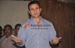 Saif Ali Khan Meets The Media