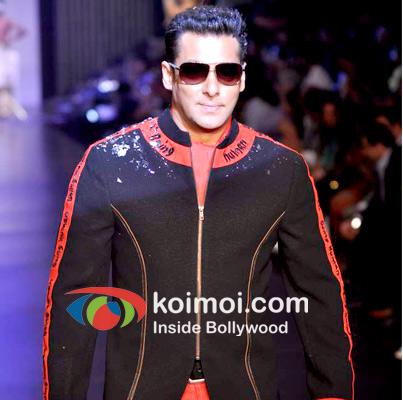 Salman Khan At A Being Human Event