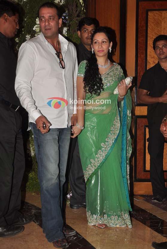 Sanjay Dutt & Manyata Dutt