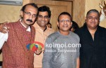 Sanjeev Gupta, V N Chaturvedi, Monty Sharma At Annu Kapoor's 56th Birthday Celebrations