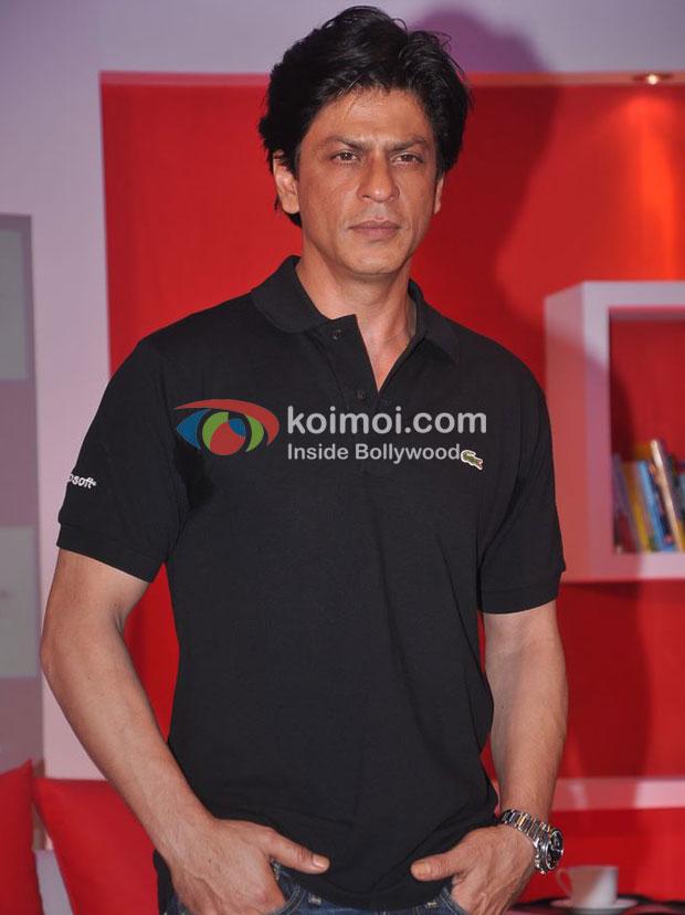 Shah Rukh Khan At Microsoft-Don 2 Event