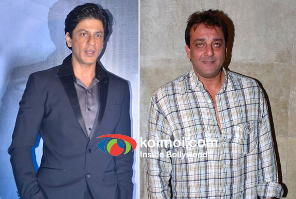 Shah Rukh Khan And Sanjay Dutt