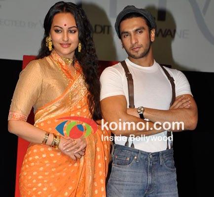 Lootera cast Sonakshi Sinha & Ranveer Singh