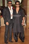 Sunil Shetty, Shahid Kapoor At Ritesh-Genelia Wedding