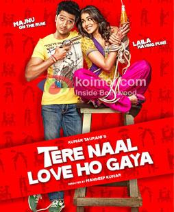 Tere Naal Love Ho Gaya Review (Tere Naal Love Ho Gaya Poster)