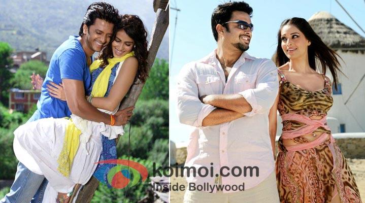 Stills from Tere Naal Love Ho Gaya & Jodi Breakers