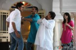 Abhishek Bachchan, Ajay Devgan, Neeraj Vora and Prachi Desai in Bol Bachchan Movie Stills