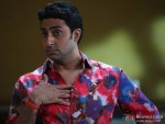 Abhishek Bachchan surpises in Bol Bachchan Movie Stills