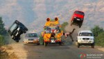 Action Scene in Bol Bachchan Movie Stills