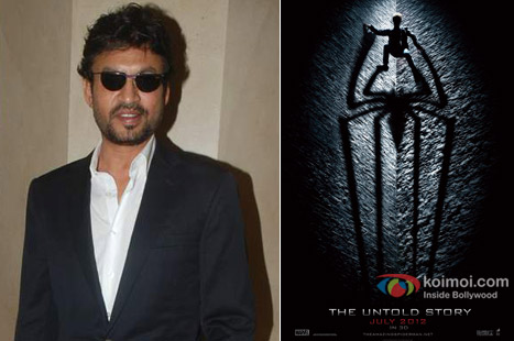 Irrfan Khan & The Amazing Spider-Man Movie Poster