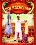 Abhishek Bachchan and Ajay Devgan in Bol Bachchan Movie Poster