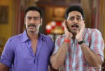 Ajay Devgan and Abhishek Bachchan in Bol Bachchan Movie Stills