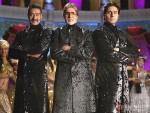 Ajay Devgan, Amitabh Bachchan, Abhishek Bachchan in Bol Bachchan Movie Stills