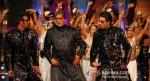 Ajay Devgan, Amitabh Bachchan, Abhishek Bachchan (Bol Bachchan Movie Stills)