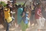 Ajay Devgan, Prachi Desai and Abhishek Bachchan dance in Bol Bachchan Movie Stills