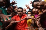 Ajay Devgan with his gang in Bol Bachchan Movie Stills