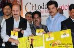 Anupm Kher, Balasaheb Bhapka, Anil Kapoor At Chhodo Kal Ki Baatein Music Launches