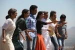 Archana Puran Singh, Asin Thottumkal, Abhishek Bachchan, Prachi Desai, Asrani and Krushna Abhishek in Bol Bachchan Movie Stills